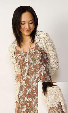 http://www.ravelry.com/patterns/library/29-1-crochet-motif-shrug  free crochet pattern