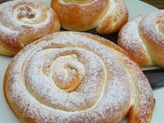 Ensaimadas Ana Sevilla con Thermomix Sweet Cooking, Cooking Chef, Pan Dulce, Mexican Food Recipes, Sweet Recipes, Tapas, Sweet Dough, Thermomix Desserts, Bakery Recipes