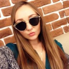 8666b2bf9e987 RunBird 2017 New Cat Eye Sunglasses Women Brand Designer Fashion Twin-Beams  Rose Gold Mirror Cateye Sun Glasses For Female