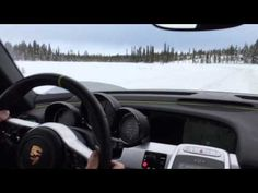 Porsche 918 Spyder makes for the most expensive snowblower ever