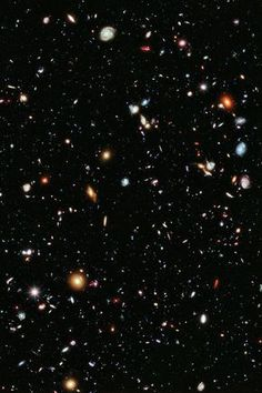 The Hubble Extreme Deep Field is most distant image of the Universe ever created. Its diameter is one tenth the width of the full moon, its area is one 30 millionth of the entire sky. Within this field of view there are more than 5000 galaxies, 600 trillion stars and 50 quadrillion planets and moons. This photograph is a slice of infinity, proof of the immense scale of reality.