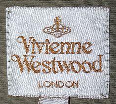 Image result for VIVIENNE WESTWOOD LABEL
