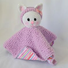 Chatminette, doudou, tricot, crochet, tuto, agurigami, La chouiette bricole
