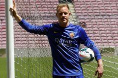 Ter Stegen: El nuevo portero del Barcelona, en directo