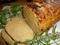 Herbed Chik'n Roast from The Gentle Chef Cookbook (vegan) (Seitan)