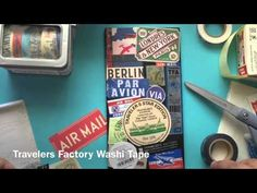 Midori Travelers Notebook- Cover Decoration - YouTube