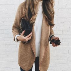 awesome Just classic. We can't get enough of this simple, effortless look. #style #fashi...