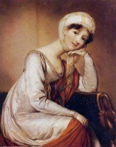 Turquerie, 1800 Dorothea von Medem (German artist, 1761-1821) Woman in Turkish Costume