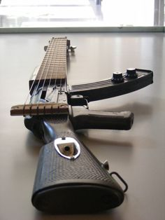 Why has no one made a guitar out of an AK-47 before now?