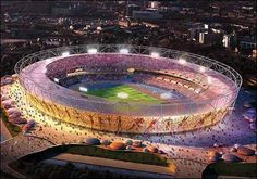 The Olympic Stadium - breathtaking!