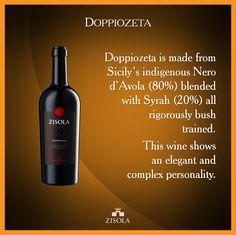Doppiozeta - Noto Rosso D.O.C. Vino dalla personalità elegante e complessa, 80% Nero d'Avola e 20% Syrah, coltivati ad alberello. @marchesimazzei #mazzei #zisola  #tuscany #wine