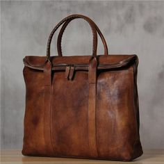 ROCKCOW Italian Leather Men's Leather Laptop Bag Briefcase Messenger Bag 9069 Model Number: 9069 Dimensions: x x / x x Weight: / Hardware: Brass Mens Leather Laptop Bag, Leather Briefcase, Leather Purses, Leather Handbags, Men's Leather, Distressed Leather, Brown Leather Bags, Leather Totes, Canvas Leather