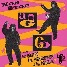 Monkey A-Go-Go record album cover