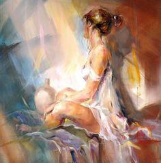 Adorable Paintings by Polish Figurative Painter Emilia Wilk