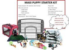Maxi Puppy Starter Kit - FREE SHIPPING, R4 195.00  #shopplaypens #puppy #puppies #newpuppy #puppytraining #petbed #ecofriendlybowls #rawfoodforpuppies #becobowls #playpen #petplaypens #superdeals #2016deals #save #freedelivery #freeshipping #newfluffybaby #furbaby #furbabies #ilovemydog #ilovemynewpuppy #puppylove