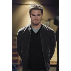 Stephen Amell ❤ liked on Polyvore featuring stephen amell