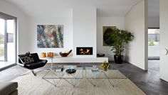 Contemporary Living Room by Michael Downes - UA Creative