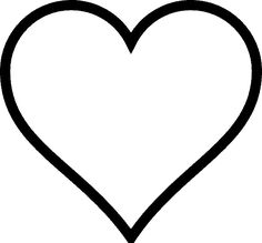 Print Love Coloring Pages Free. Human heart or heart is still used as a symbol of love. Along with the times, soft heart as a symbol of love has not been shaken, except for the incre. Shape Coloring Pages, Family Coloring Pages, Heart Coloring Pages, Free Coloring, Heart Shapes Template, Shape Templates, Owl Templates, Applique Templates, Applique Patterns