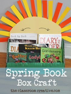 spring book box craf