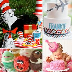 Best Kids' Birthday Party Ideas 51 ideas. lego party, angry birds, firetruck, colors, sesame street, cat in hat....