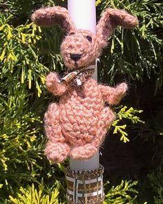 Hippity hop #Easter lambada #candle #crochettoy