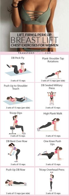 #womensworkout #workout #femalefitness Repin and share if this workout gave you a great boob lift! Click the pin for the full workout.