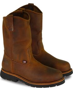 Ariat Men's Catalyst VX Waterproof Composite Toe Work Boots   Boot Barn Pull On Work Boots, Steel Toe Work Boots, Nike Sfb, Safety Toe Boots, Composite Toe Work Boots, Bullen, Engineer Boots, Western Boots, Cowboy Boots