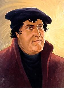 Martin Luther-1483 to 1546-Reformation leader