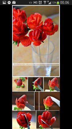 Jordbær-roser :)