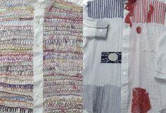 高田幸恵/鎌田あさ子+コーディネーター  工房しょうぶ 『Nui Project -刺繍の針目-』 社会福祉法人太陽会、2003年、32-3ページ