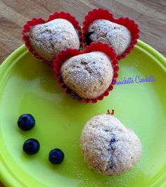 Muffin integrali ai mirtilli di Csaba