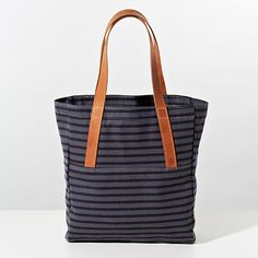Sailor Graphite A-Strap Tote made in collaboration with Makr | Unison