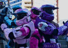 Halo Spartan girls. Master Chicks