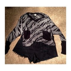 Long sleeve crop Great condition not brandy just for looks Brandy Melville Tops