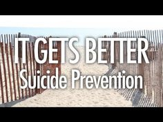 It Gets Better (Suicide Prevention) I'm not kidding dont pass this pin! Watch the video!!! Everyone who has ever struggled with suicide, self harm, depression, anxiety, trying to fit in, not liking who you are, or anything else, please watch please! Please watch. Once your done like this pin and spread this powerful message. -Summer <3 If you ever need help or need to talk I'm here for you. Always!