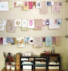 Decore e organize seu ateliê -