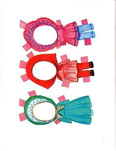 Paper Dolls~ Lucky Locket Kiddles - Bonnie Jones - Picasa Webalbum