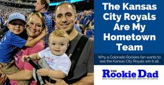 Growing up in Western Kansas, I was a Colorado Rockies fan, but after moving to Kansas City and having kids, the Kansas City Royals have become my hometown baseball team.