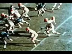 Jimmy Brown Highlights...vintage footage with Zombie music.