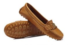 Tory Burch 8638 leather driver shoes