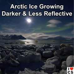 Dark News Indeed, as it means more warming!  Read it here: