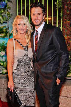 Luke Bryan and his VERY lucky lady Caroline Boyer