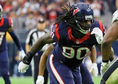 Houson Texans: Jadeveon Clowney The No. 1 pick of the 2014 NFL Draft, persistent injuries have prevented Jadeveon Clowney's NFL career from taking off. However, the few games Clowney has been healthy, the Houston pass rusher has flashed All-Pro potential. If Clowney can stay healthy, the Texans could boast one of the best one-two pass-rushing combinations ever with J.J. Watt opposite the former South Carolina Gamecocks star.