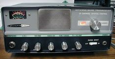 Old Tube Radio - 27.085MHz - CB Channel 11 - Saturdays 8:00PM - 10:00PM PST Radios, Citizens Band Radio, Citizen Band, Pocket Radio, Ham Radio, Channel, Cool Stuff, Projects, Stickers