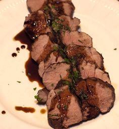 Pork Tenderloin with Balsamic Glaze