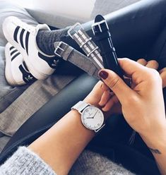 """The classic Campina Silver """"Mesh"""" with white dial, silver case and matching silver mesh strap fits to any outfit or occasion. The Campina model with a diameter of 36 mm is popular for women who prefer smaller watches."""