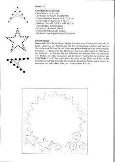 K. J. Nr. 2 zauberhafte 3D Grusskarten Weihnachten - Kreuzchen - Picasa Albums Web