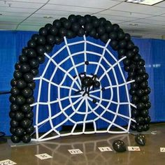 Spider web balloon a