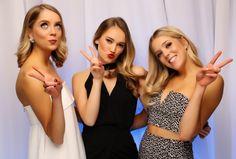 Auckland University Medical Students Association Ball 2015. Gorgeous girls!  www.whitedoor.co.nz
