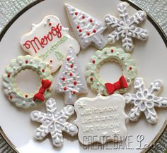 Metallic Christmas Cookies Create. Bake. Love.: Christmas Treats!